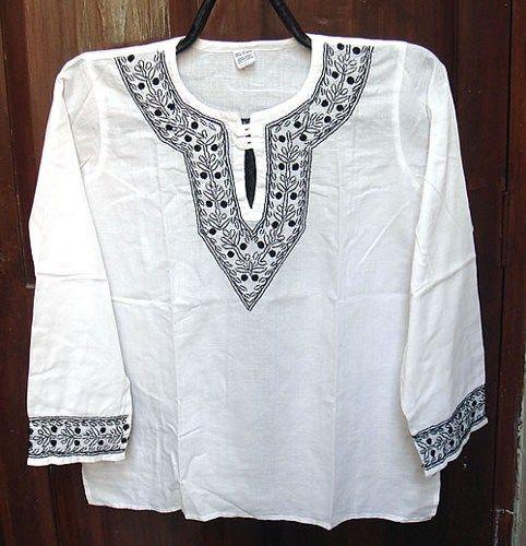 Men/'s Kurta Cotton Kurta Boys Kurta Yoga Dress White Kurta Short Kurta Men/'s Top Tunic Men/'s Clothing Dress Shirt Cotton Dress Boys Dress