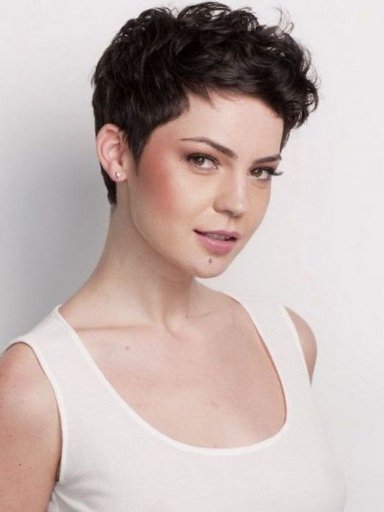 short pixie haircuts for thick hair | haircuts | short wavy