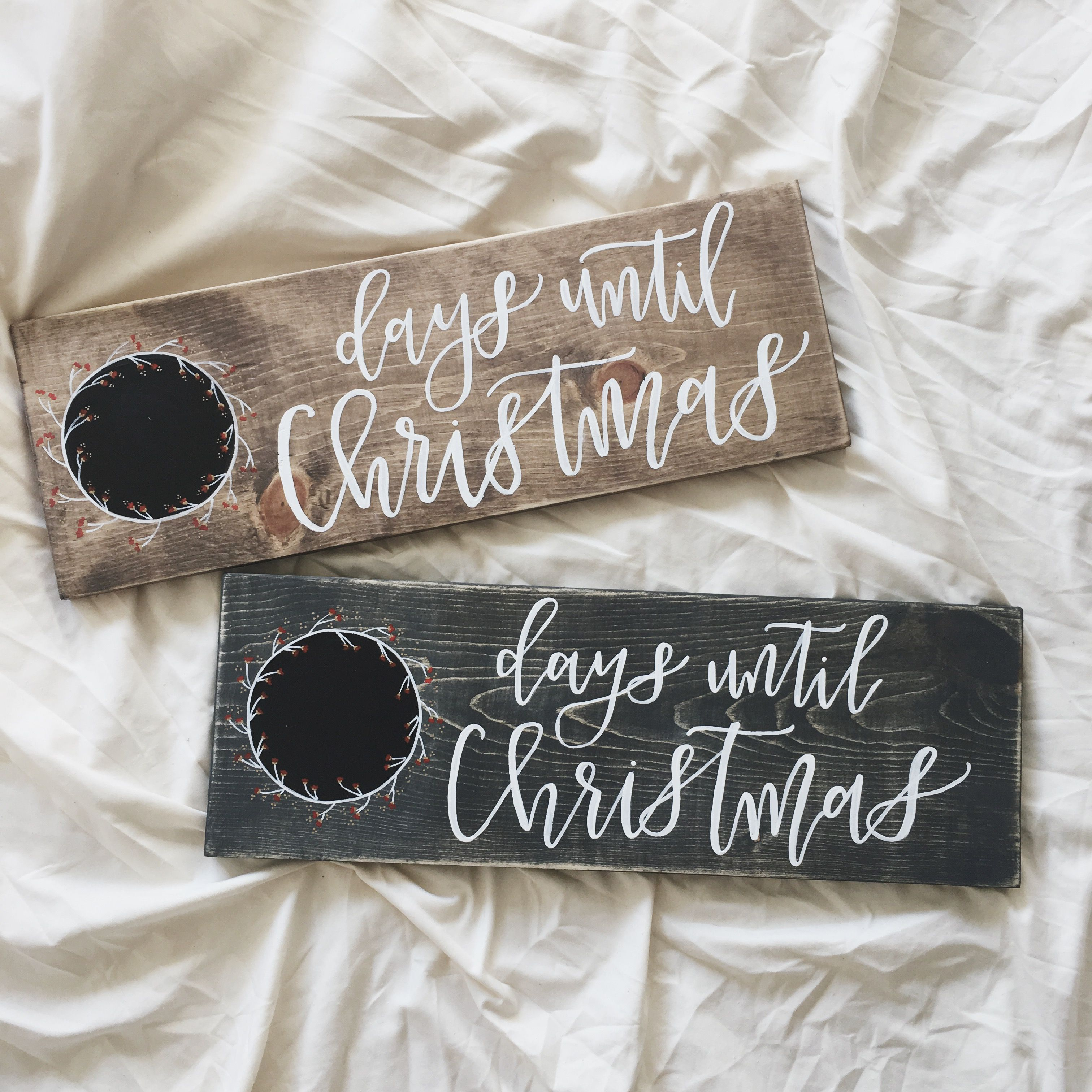 christmas countdown christmas sign weihnachten. Black Bedroom Furniture Sets. Home Design Ideas