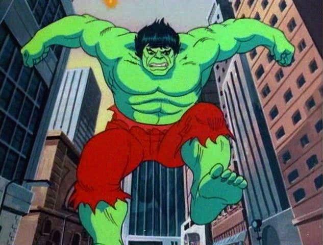 The Incredible Hulk 1982 1983 Incredible Hulk The Incredibles Cartoon World