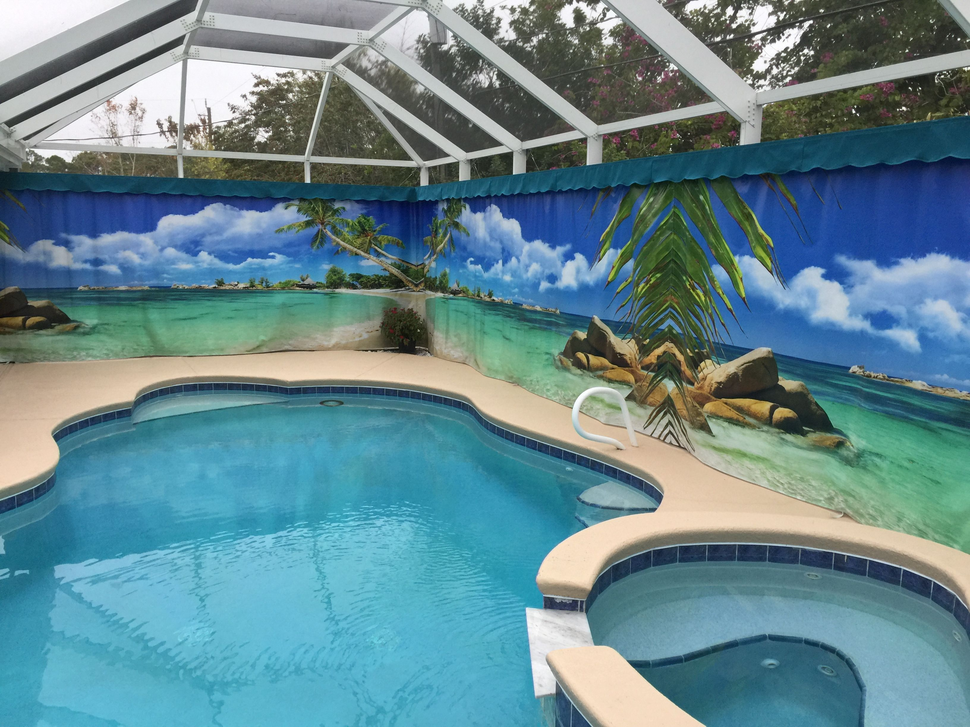 Gallery Privacy On Demand Inc Outdoor Privacy Curtains Outdoor Privacy Florida Pool Privacy Curtains