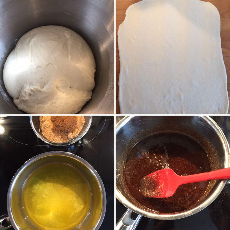 Zimtschnecken mit Frischkäse-Frosting…American Cinnamon-Rolls with Cream Cheese-Frosting