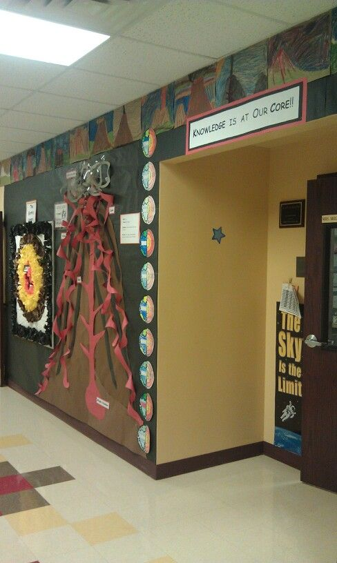 Volcano Hallway With Layers Of The Earth Science Activities Lessons Teaching