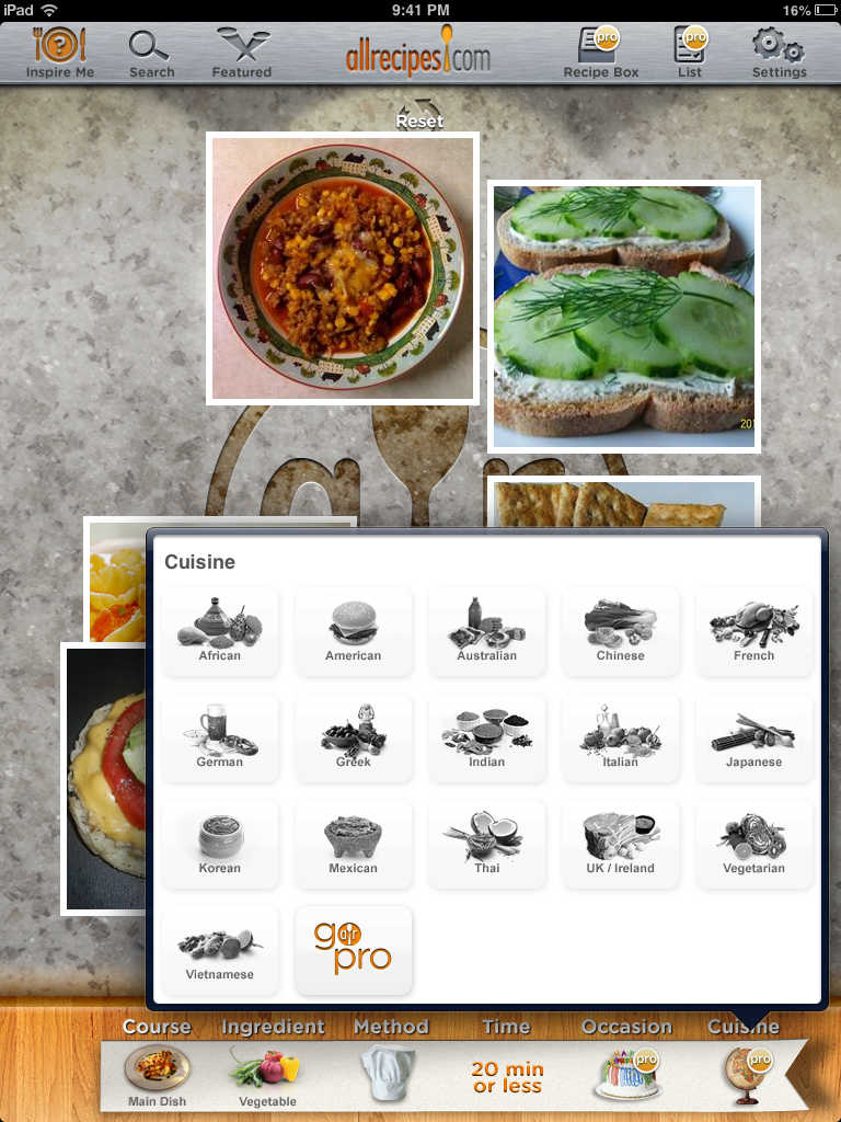 All recipes cooking method food app interfaces pinterest all recipes cooking method forumfinder Choice Image