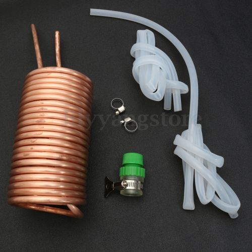 26 Super Copper Immersion Wort Chiller Cooler Elevated Coils Kit