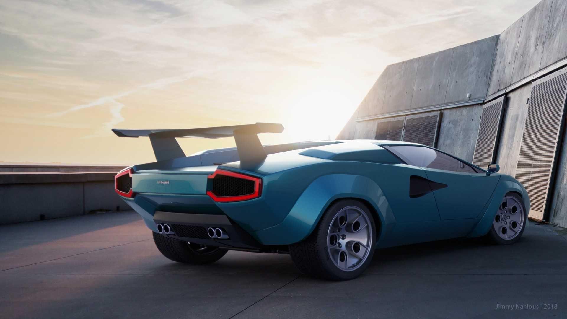 Lamborghini Countach Concept EV | Lamborghini cars