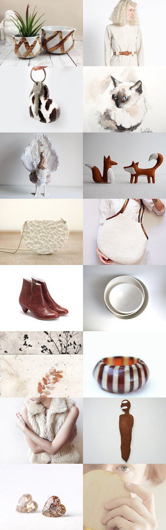 Brown and White game by Tatin on Etsy--Pinned+with+TreasuryPin.com