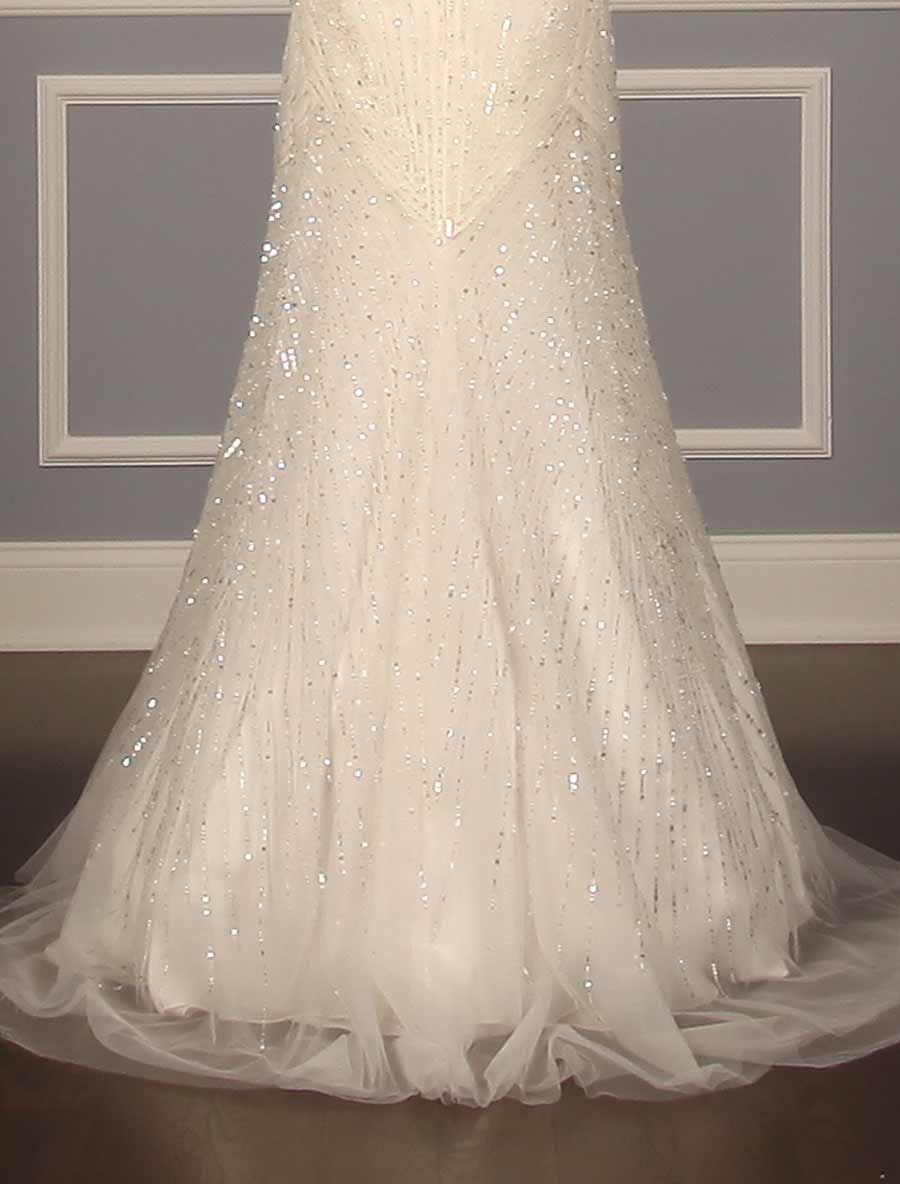 Reem Acra Angelica 4700 Discount Designer Wedding Dress Reem Acra