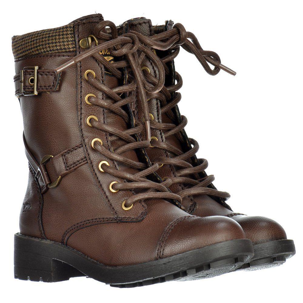 12e738247 Rocket Dog Thunder Military Ankle Boots - Derby Black / Brown / Tan - Rocket  Dog from Onlineshoe UK