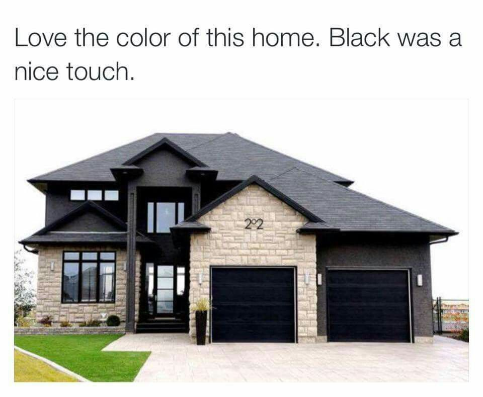 24 stylish home black and white exterior design home - Exterior paint that lasts forever ...