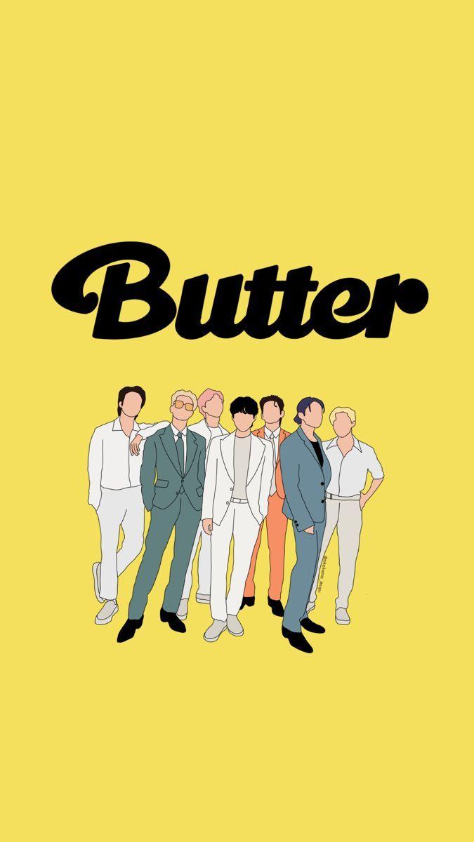 Bts wallpaper hd butter