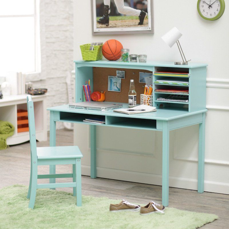 Sensational Guidecraft Media Desk Chair Set Teal Kids Desks At Gmtry Best Dining Table And Chair Ideas Images Gmtryco