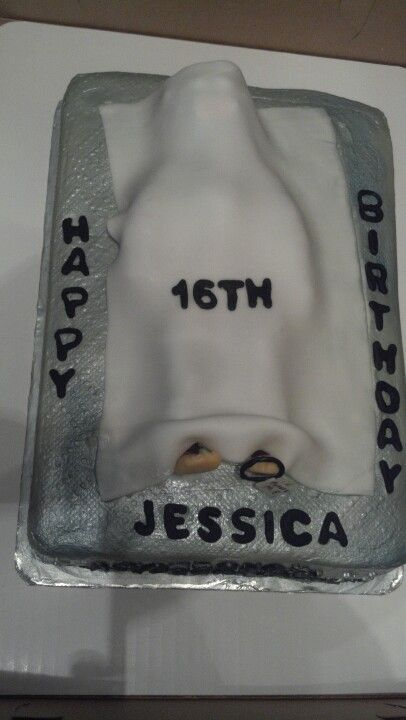Delightful Future Medical Examiner Cake
