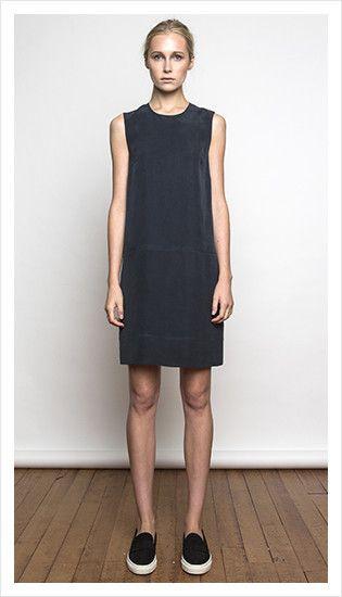 thompson dress (midnight silk)