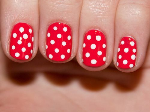 Awesome Cute Simple Nail To Do At Home Designs
