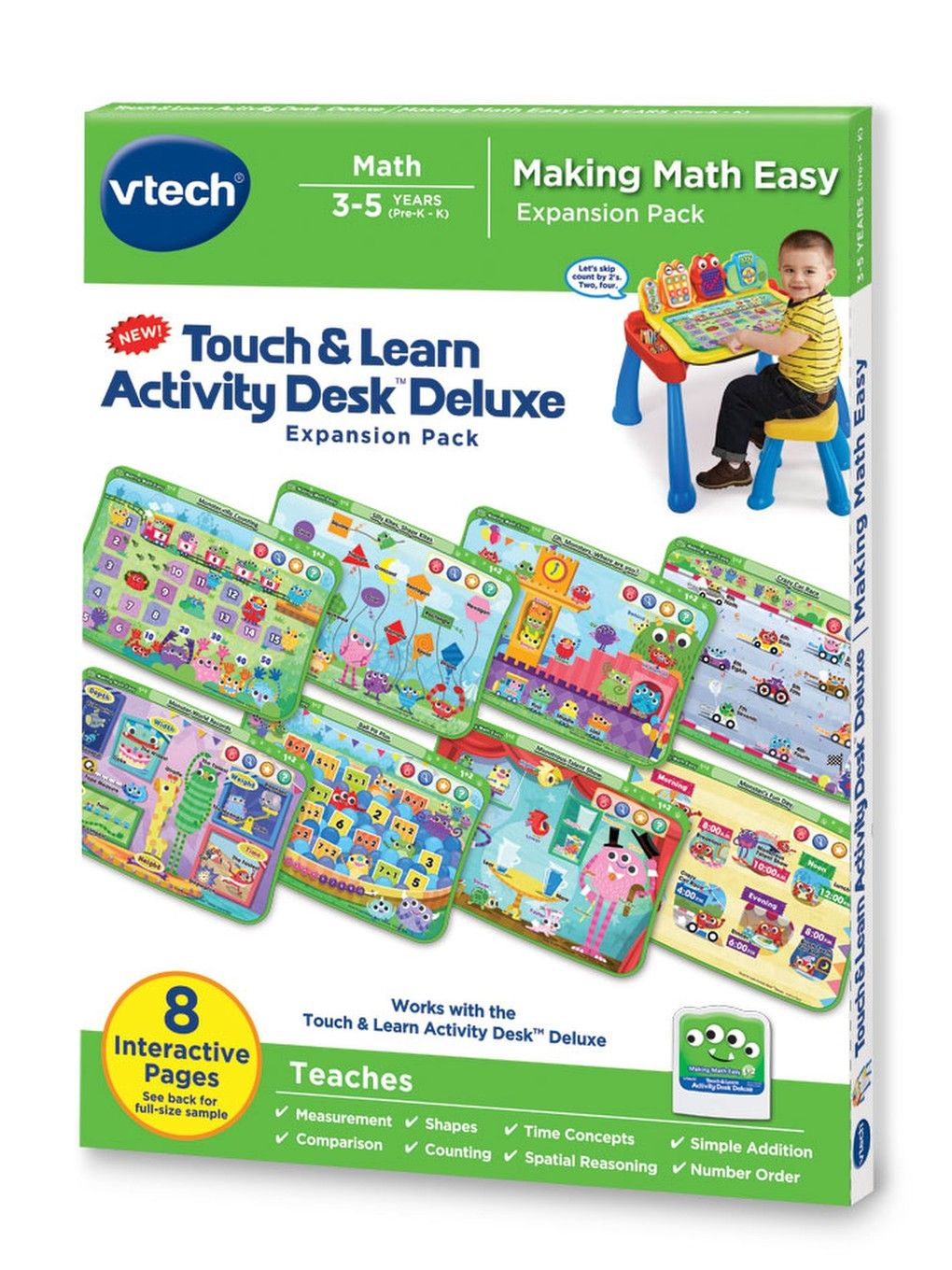 Touch Learn Activity Desk Deluxe Making Math Easy Learning