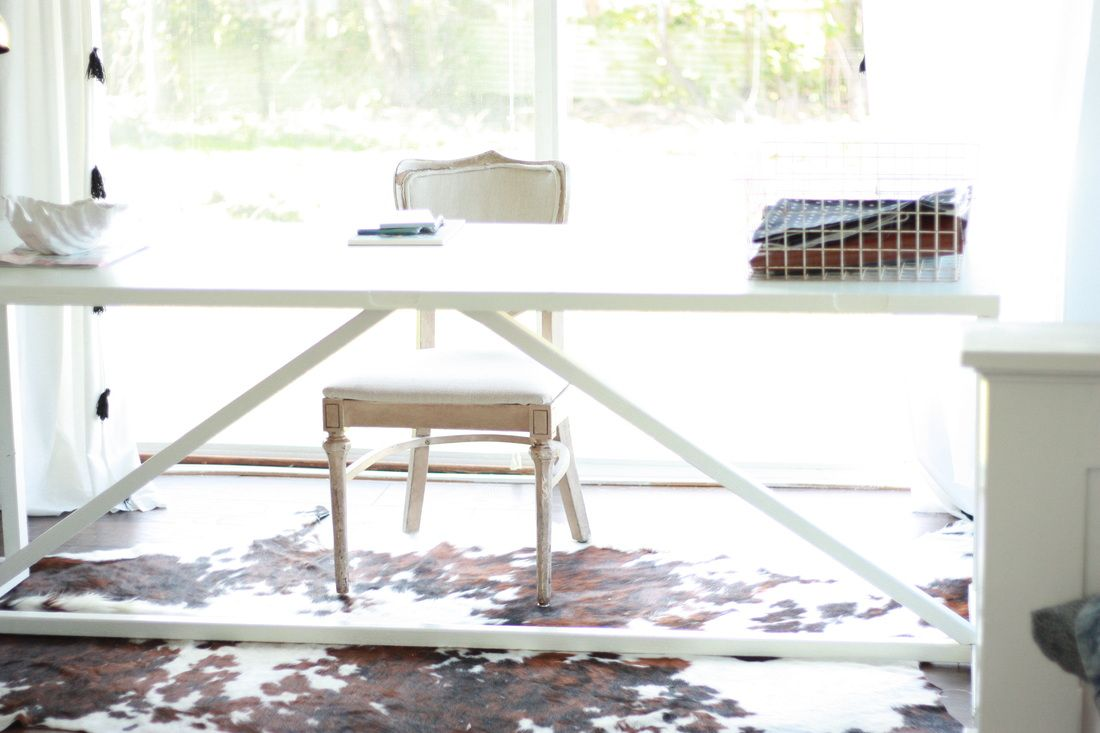 Diy Desk From Hollow Core Door. Step By Step Instructions On Thimble And  Cloth