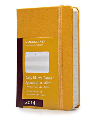 Loving This Orange 12 Month Daily Hardcover Pocket Planner On Zulily Zulilyfinds Moleskine Diary Moleskine Pocket Planner