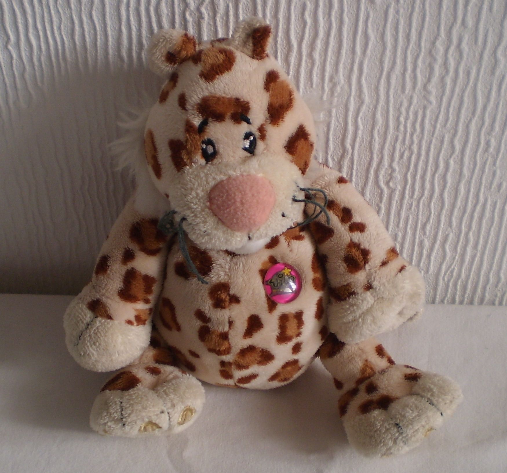 Keel Wild Bunch Soft Toy Plush Beanie Bottom Leopard Collectable ... 7d6f12876fb2