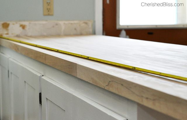 How To Finish And Install Butcher Block Countertop Butcher Block