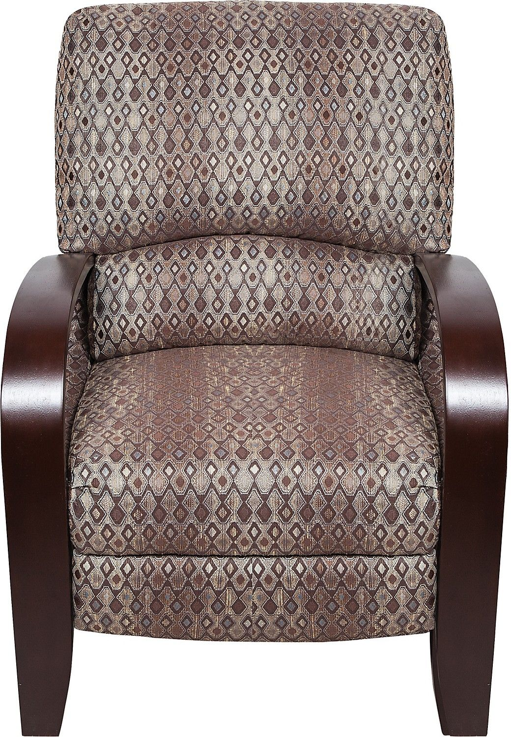 Living Room Furniture Aaron Fabric Accent Reclining