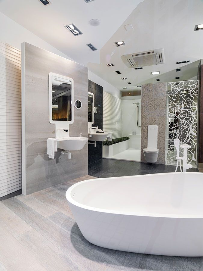 MOOD AroundTheWorld Find Out Its Exclusive #bathroom Design Spaces All Over  The World #bathroomdesign #interiordesign #bathrooms