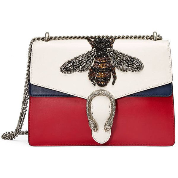 Gucci Dionysus Embroidered Leather Shoulder Bag (£3 e73e21f9cea3