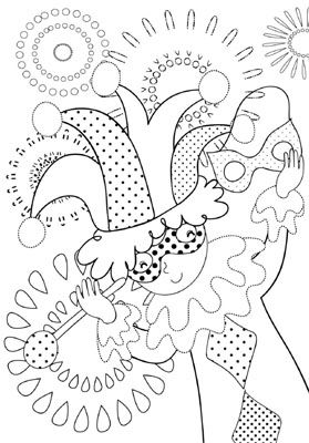 8 Places To Find Free Mardi Gras Coloring Pages At Activity Village