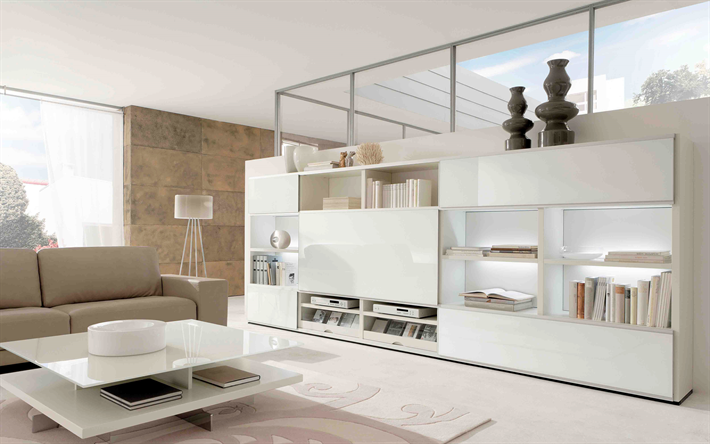 Herunterladen Hintergrundbild Wohnzimmer Moderne Design Ideen Für Wohnzimmer,  Moderner Stil, Moderne Einrichtung