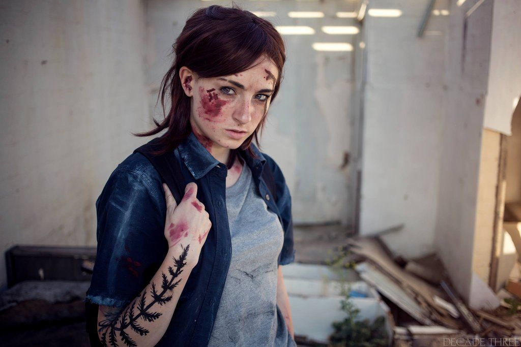 The Last Of Us Part Two Ellie Cosplay By Kaylaerinofficial