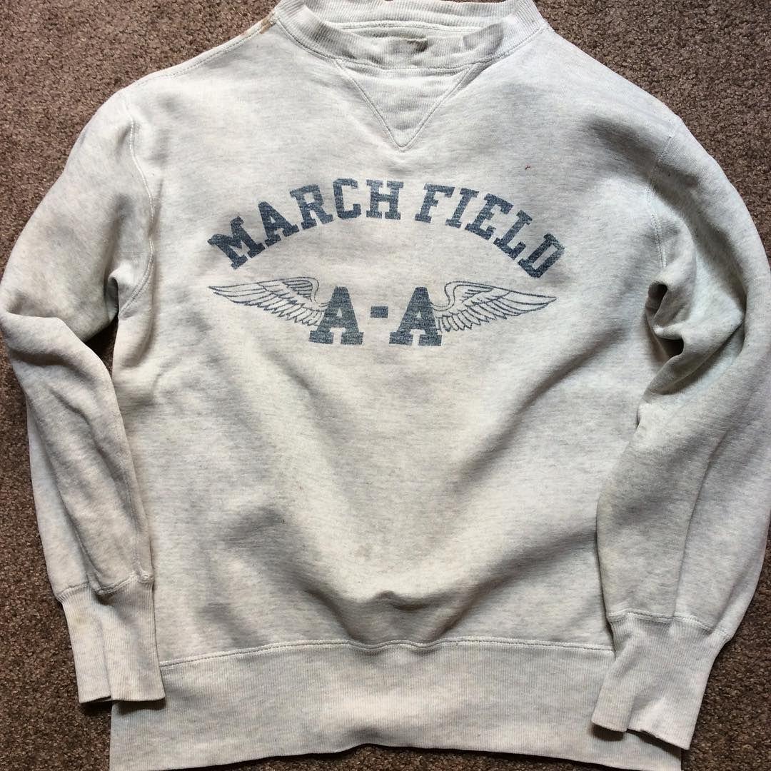 1940 S Army Air Force W V Sweatshirt Size L Berberjin Nov19onsale Mens Sweatshirts Sweatshirts Mens Outfits [ 1080 x 1080 Pixel ]
