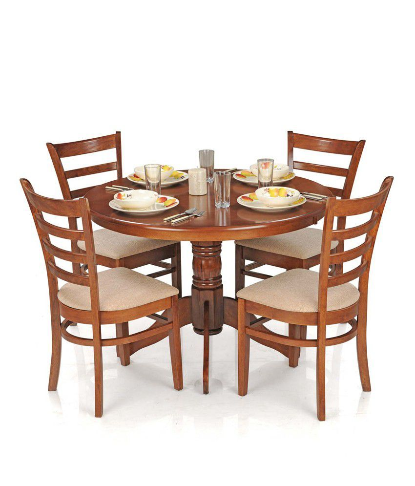 4 Chair Dining Table Set With Price In 2020 4 Chair Dining Table