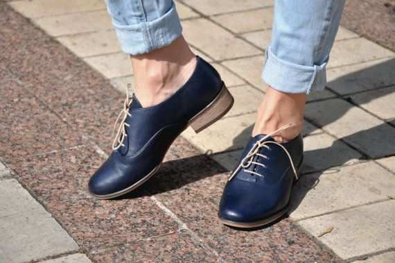 046452b71698c Dorsey - Womens Leather Oxfords, Classic Handmade Shoes, Vintage ...