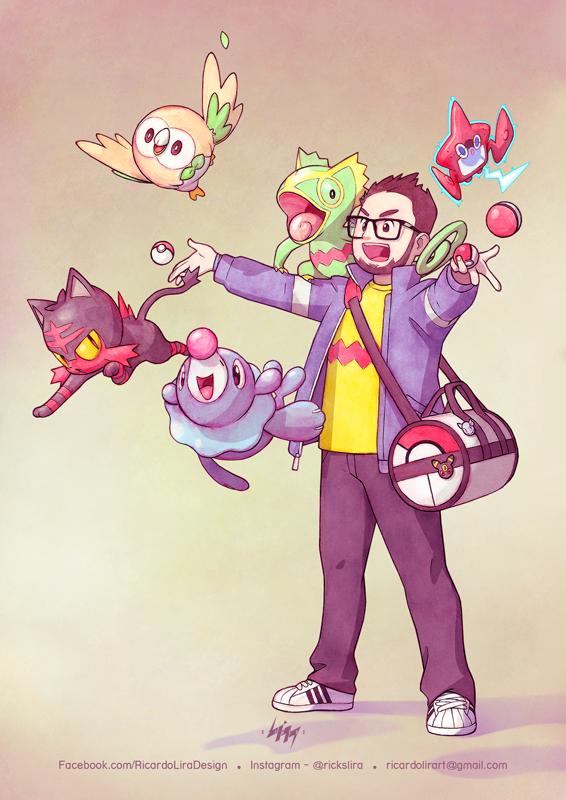 Artista Transforma Pessoas Reais Em Treinadores Pokemon Equipe