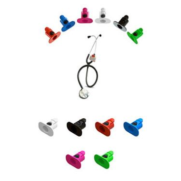 ADC Stethoscope Tape Holder   allheart.com This is an AWESOME idea!!