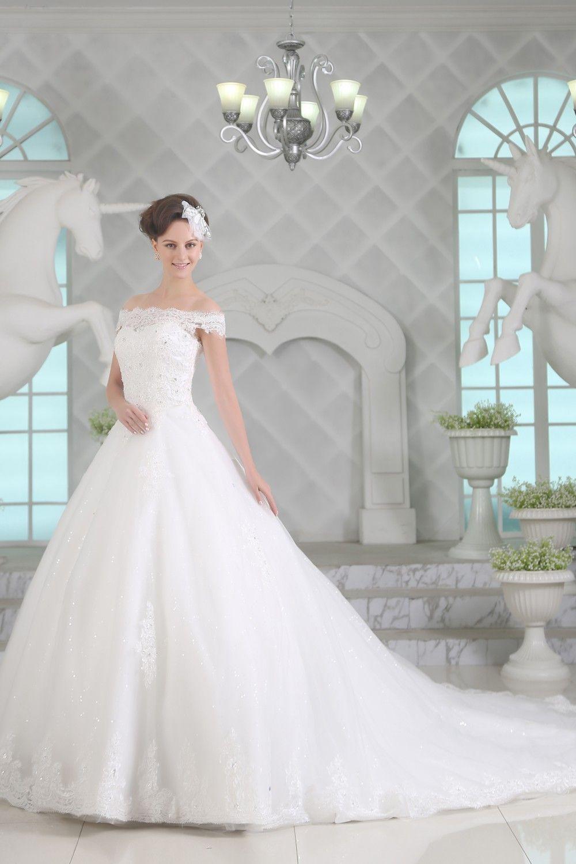 Ein echtes Prinzessinnenkleid: Brautkleid \
