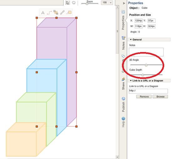 Draw 3d Objects Online With Creately Diagram Tools Diagram And