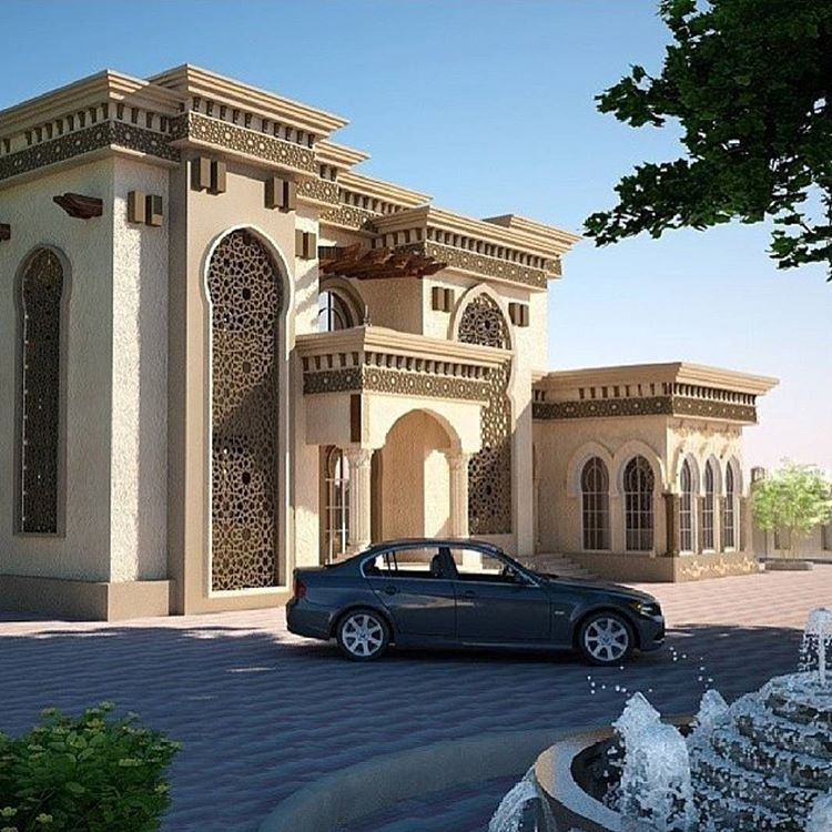 Pin by marwan alkindi on exterior in 2019 house design - Exterior design of modern houses ...