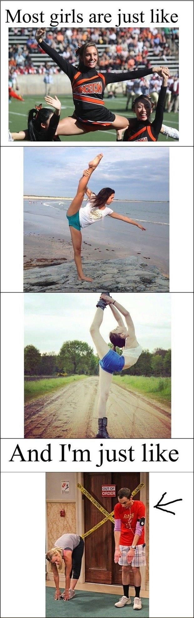 funny women doing the splits is part of Funny -