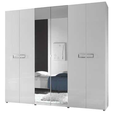 Armoire 6 portes LIDIA | Pinterest | Conforama, Armoire conforama et ...