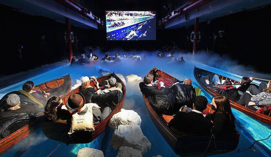 now thats how Id like to watch The Titanic!