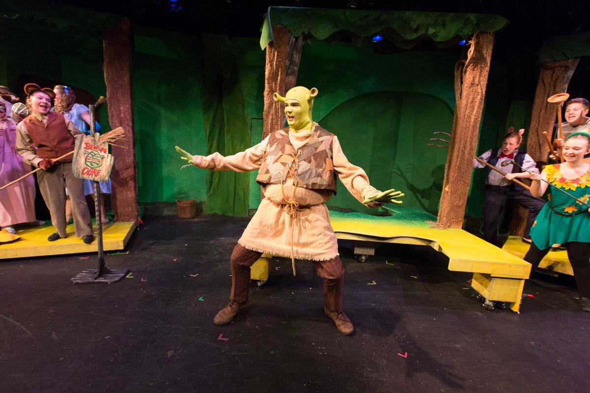 Image result for shrek walnut street theatre