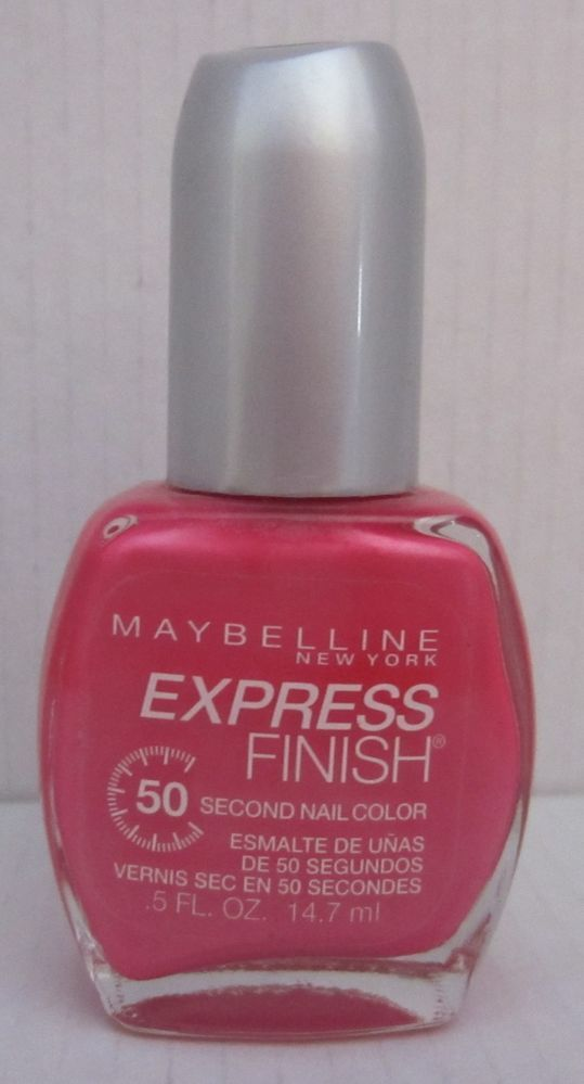 Summer Nail Polish Maybelline 50 Second Nail Color #90 Pink Shock ...