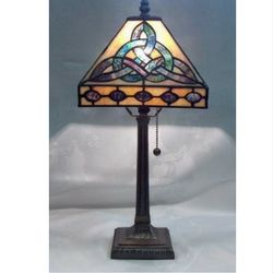Trinity Tiffany Styled Lamp Stained Glass Lamp Shades Stained Glass Lamps Tiffany Style Lamp