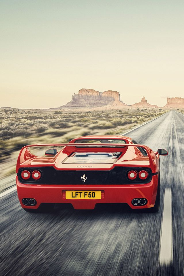 Ferrari F50 Iphone Iphone6 Wallpaper
