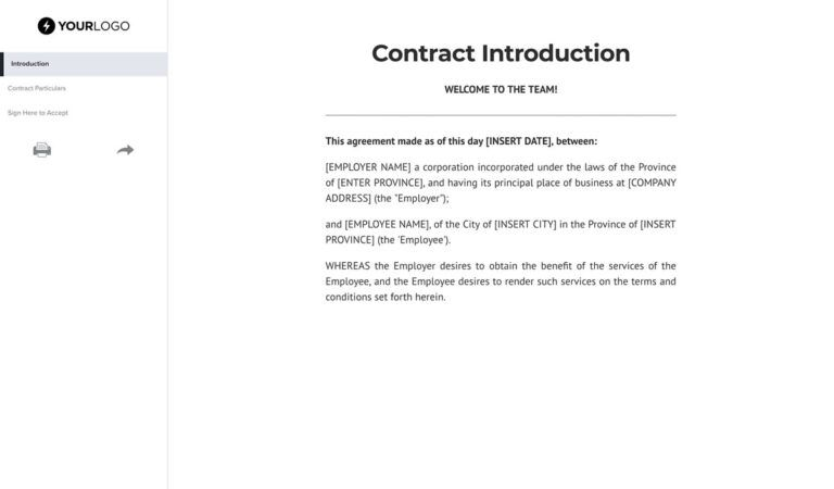 Free Contract Agreements And Templates Better Proposals
