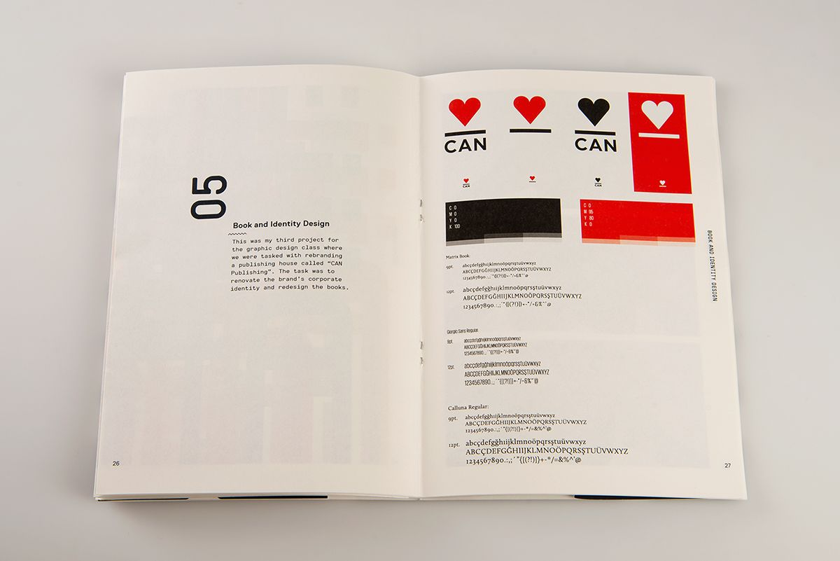 Portfolio Booklet on Behance