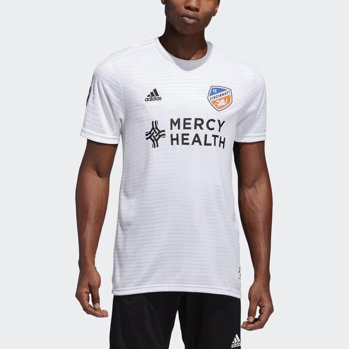 online store 05cf5 3c139 FC Cincinnati Away Jersey Mls-Fcn-C6c L Mens in 2019 ...