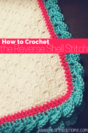 Reverse Shell Stitch Tutorial Crochet Technique With
