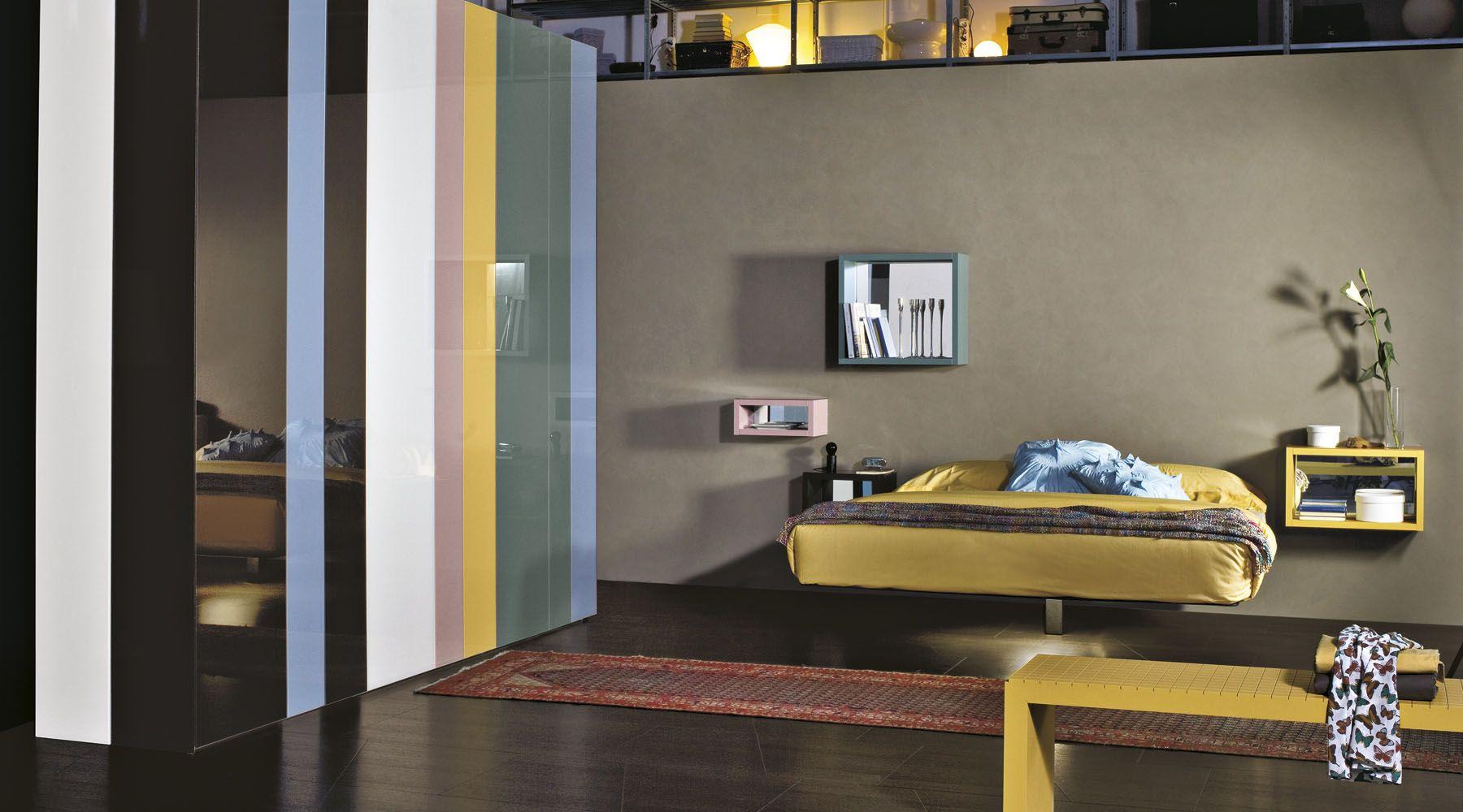 Letto Fluttua Armadio Now Lagodesign Con Immagini Design Di
